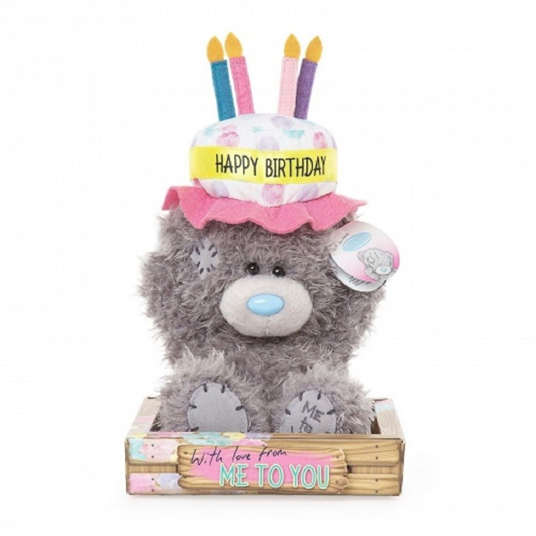 Stupendous Me To You 7 Collectors Plush Bear Happy Birthday Cake Hat Funny Birthday Cards Online Inifofree Goldxyz