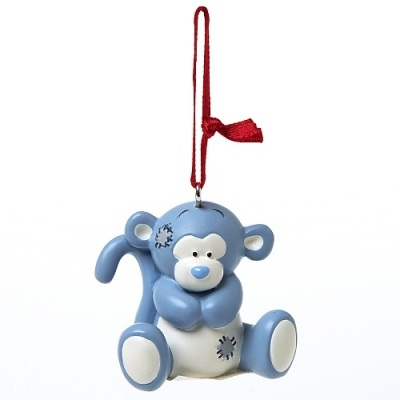 Me To You Blue Nose Friends Coco the Monkey Keyring