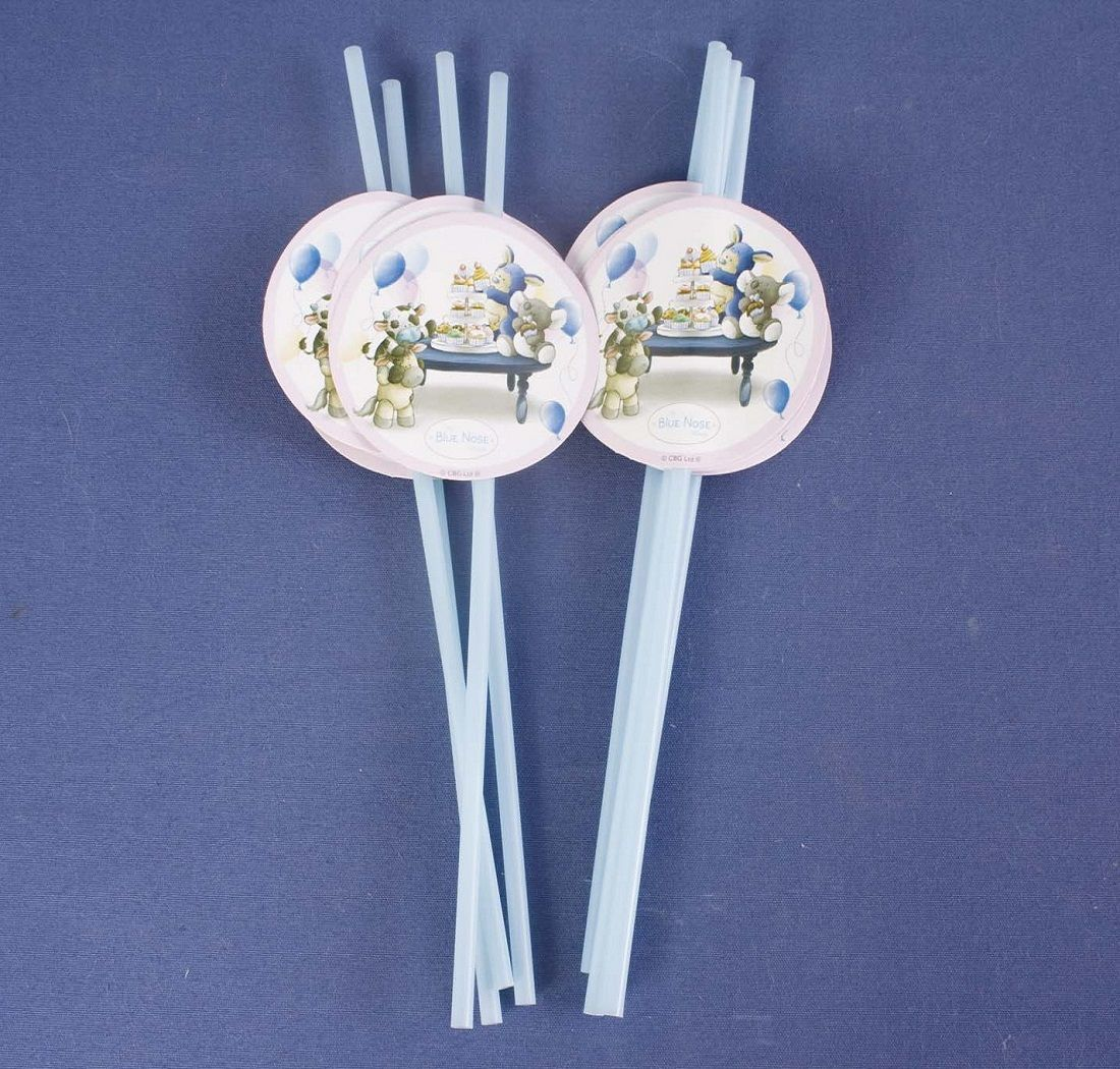 Me To You My Blue Nose Friends Partyware Drinking Straws